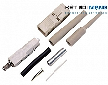 AMP LightCrimp Plus Connector, Duplex SC, SM  (KIT, DUPLEX, STANDARD)