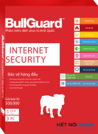 Phần mềm diệt virus BullGuard Internet Security - 01 Year for 03 PC