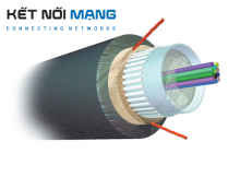AMP Fiber Optic Cable, Outside Plant, 4-Fiber,OM3, Dielectric Jacket (FO CABLE, OSP, 4F, OM3)