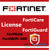 Bản quyền phần mềm 1 Year Unified (UTM) Protection (8x5 FortiCare plus Application Control, IPS, AV, Web Filtering and Antispam, FortiSandbox Cloud) for FortiGate-30D