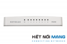 Netgear FS208 - 8 Port Fast Ethernet Unmanaged Switch
