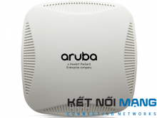 Aruba Instant IAP-204 Wireless Access Point, 802.11n/ac, 2x2:2, dual radio, antenna connectors