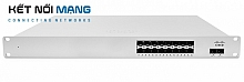 Cisco Meraki MS410-16 Cloud-managed 16 port 1 GbE aggregation switch with 10 GbE uplinks and physical stacking