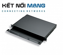 AMP Fiber Optic Rack Mount Patch Enclosure, 1U, Unloaded (1U ENCL ARMOR TRUNK ENT)