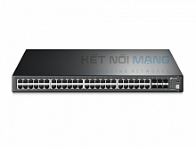 JetStream 52-Port Gigabit Stackable L3 Managed Switch T3700G-52TQ