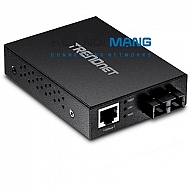 100Base-T to 100Base-FX Multi-Mode SC Fiber Converter