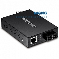 1000Base-T to 1000Base-SX Multi-Mode SC Fiber Converter