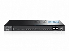 JetStream 12-Port Gigabit SFP L2 Managed Switch with 4 Combo 1000BASE-T Ports