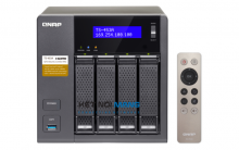 QNAP TS-453A-4G  4-Bay Professional-Grade Network Attached Storage, Supports 4K Playback