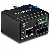 Hardened Industrial 100Base-FX Multi-Mode SC Fiber Converter (2 km, 1.2 mi.)