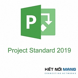 Bản quyền phần mềm Microsoft Project Standard 2019 Sngl OLP 1License NoLevel