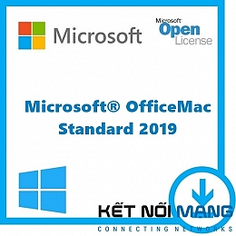 Microsoft Office Mac Standard 2019 Sngl OLP 1License NoLevel