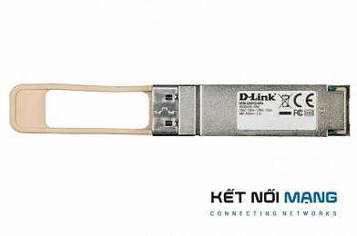D-Link DEM-QX01Q-SR4 40GBASE-SR4 Multi-mode QSFP+ Transceiver, OM3:100m, OM4:150m
