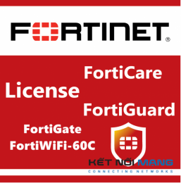 Bản quyền phần mềm 1 Year 24x7 FortiCare Contract for FortiGate-60C