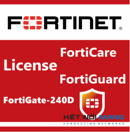 Bản quyền phần mềm 1 Year Unified (UTM) Protection for FortiGate-240D