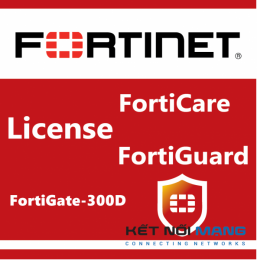 Bản quyền phần mềm 1 Year 8x5 FortiCare Contract for FortiGate-300D