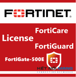 Bản quyền phần mềm FortiGate-500E 1 Year Threat Protection (24x7 FortiCare plus Application Control, IPS, AV)