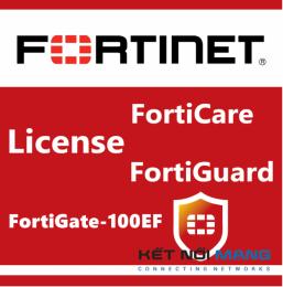 Bản quyền phần mềm 1 Year Enterprise Protection for FortiGate-100EF