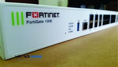 Thiết bị tường lửa Fortinet FortiGate FG-100E Security Appliance