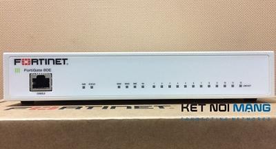Thiết bị tường lửa Fortinet FortiGate FG-80E-BDL Bundle Security Appliance