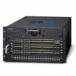 Thiết bị chuyển mạch planet 4-Slot Layer 3 IPv6/IPv4 Routing Chassis Switch